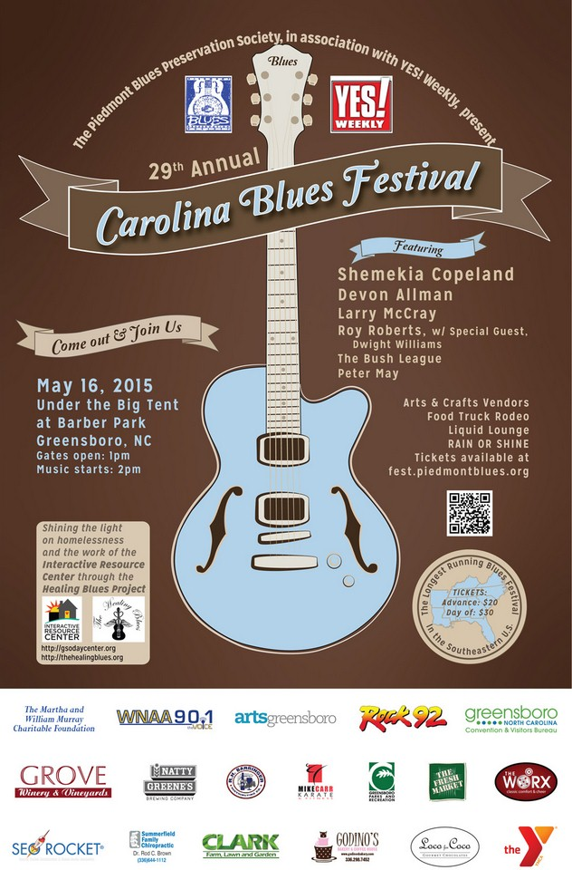Carolina Blues Festival-Sarah Schneider
